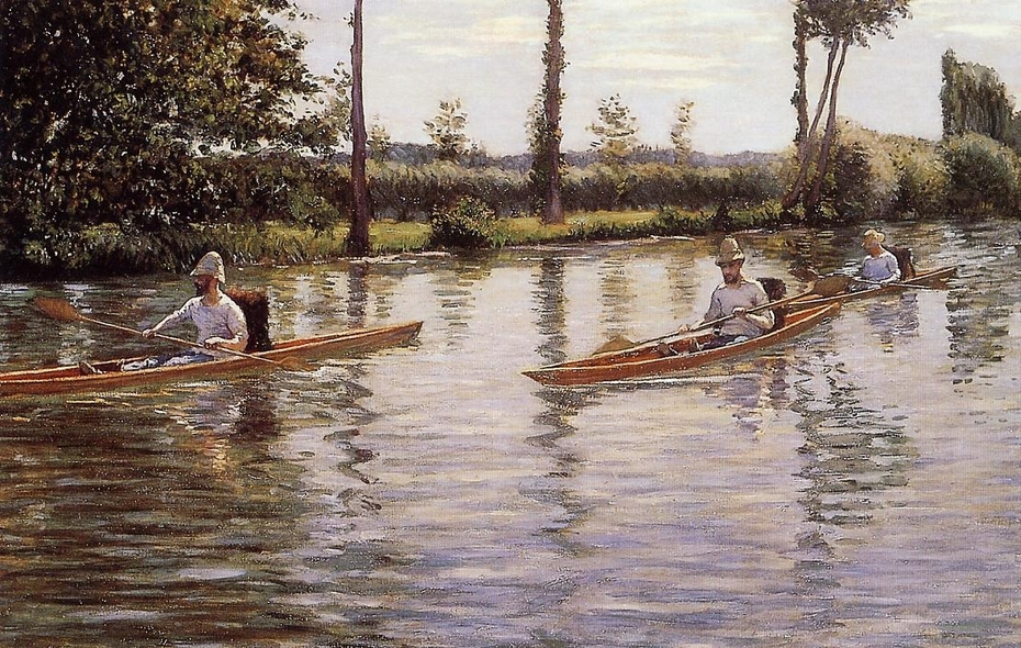 Boating on the Yerres