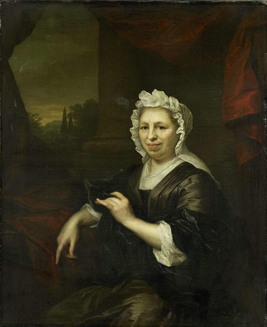 Brechje Hooft (1640-1721). Widow of Harmen van de Poll