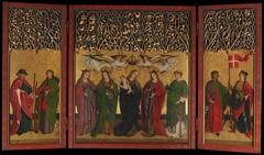 Burg Weiler Altar Triptych