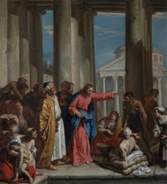 Christ healing the Lame Man at the Pool of Bethesda