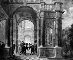 Company at a Palace
