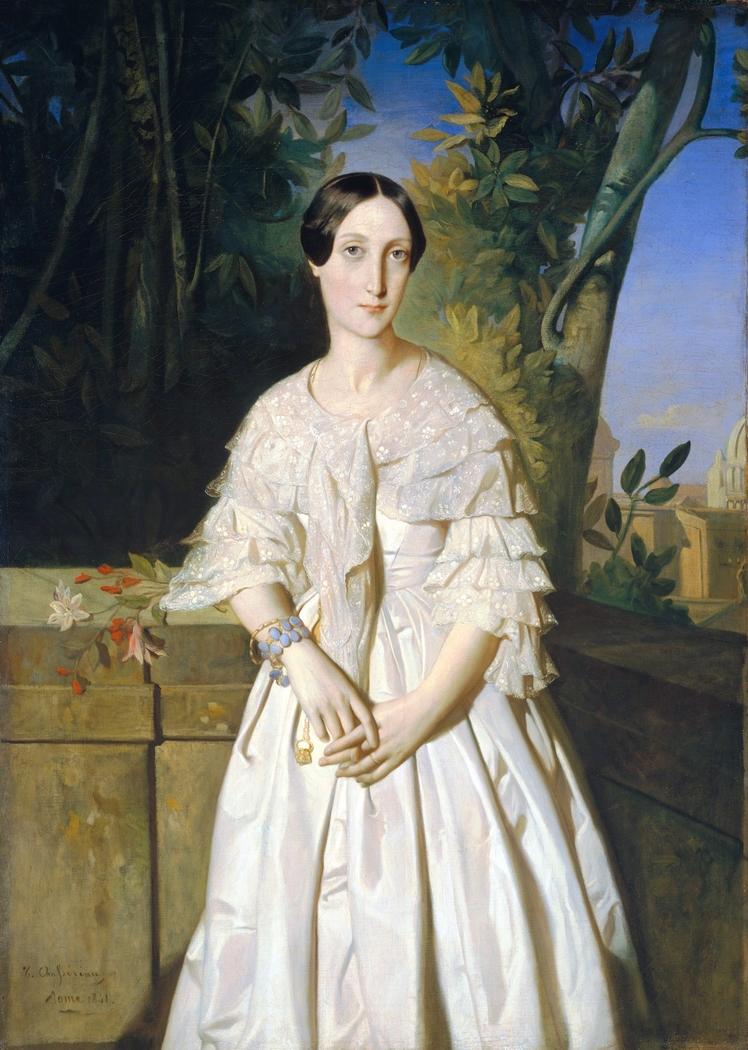 Comtesse de La Tour-Maubourg (Marie-Louise-Charlotte-Gabrielle Thomas de Pange, 1816–1850)