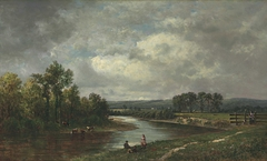 Connecticut River at South Lancaster, New Hampshire