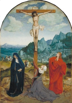 Crucifixion, with the Virgin and Saint John