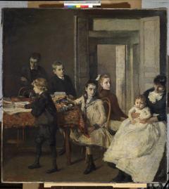 De kinderen van François van Rysselberghe