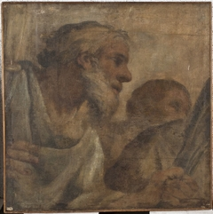 Detail of the vault of the Chapel of St Sebastian in St Peter's, Rome, cartoon