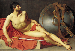 Dying athlete or wounded Roman soldier