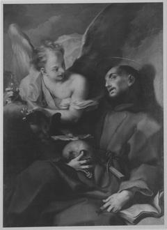 Ein Engel erscheint dem hl. Franziskus