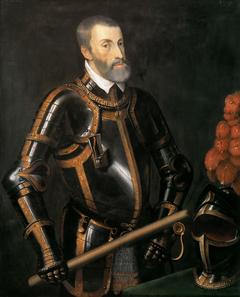 Emperor Charles V in armor