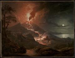 Eruption of Vesuvius with Destruction of a Roman City