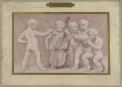 Esquisse pour la salle des fêtes de l'Hôtel de Ville : Musique