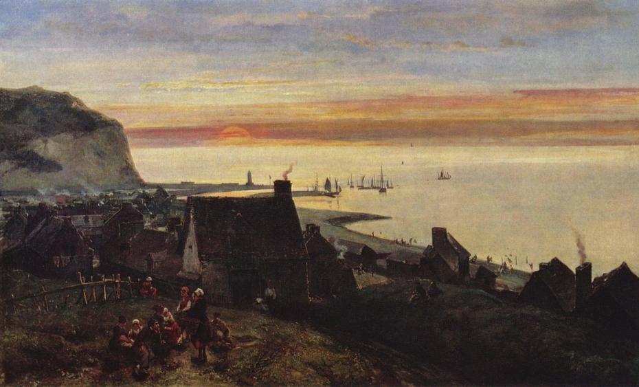 Étretat Harbor