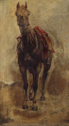 Étude de cheval pour le portrait équestre du comte de Palikao