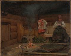 Farm Interior from Setesdal