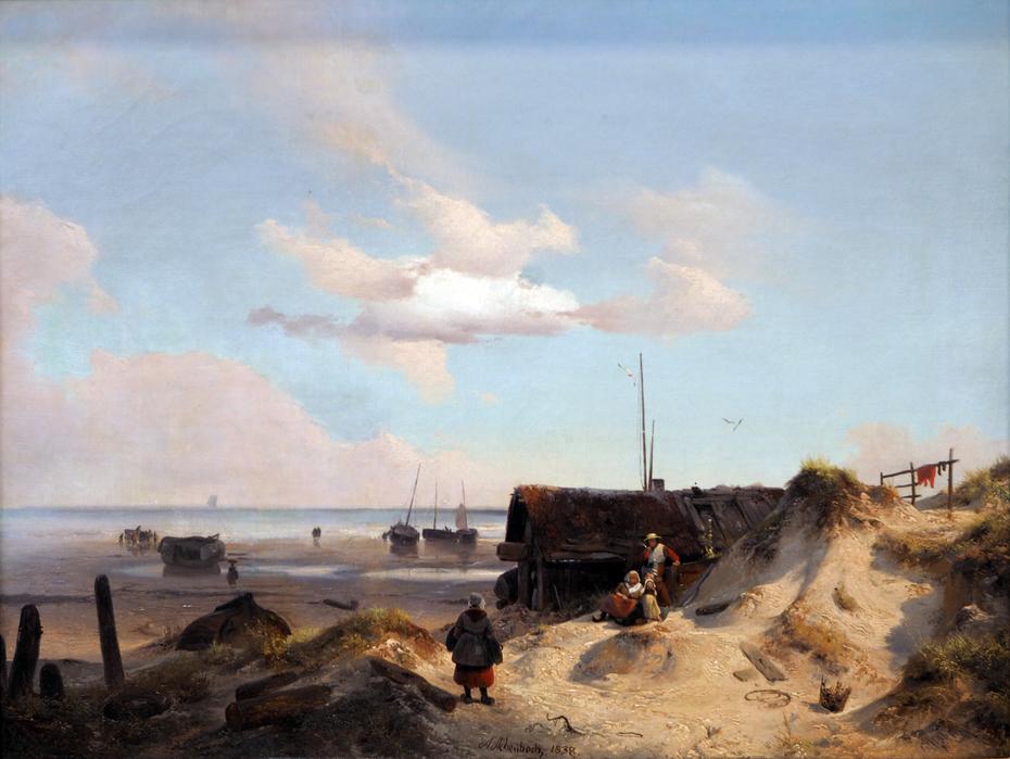Fisherman's hut in the Dunes