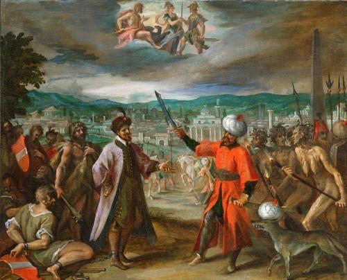 Five Allegories of the Turkish Wars: Declaration of War before Constantine