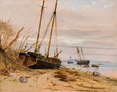 From the storm surge 1872, Falster