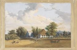 Gezicht te Rijswijk Batavia