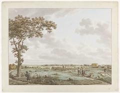 Gezicht van de Tafelberg bij Blaricum, met links Craayloos' Bosch en rechts de 'tafel'