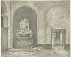 Grafmonument van Balth. Fredericus von Stosch in de Janskerk te Utrecht
