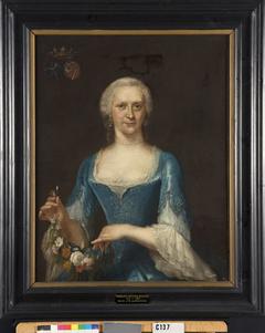 Hadewina Antonia Backer (1717-1764). Echtgenote van Willem van Heemskerck