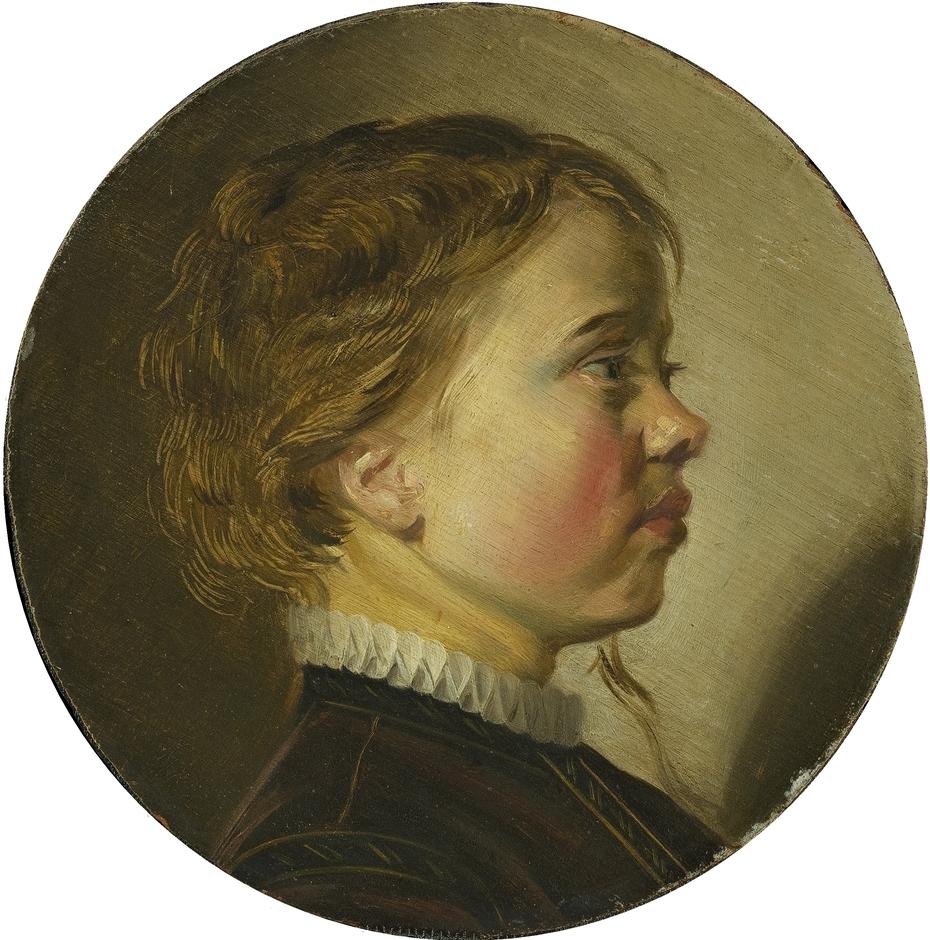 Head of a boy in profile