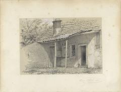 Huisje met afdak