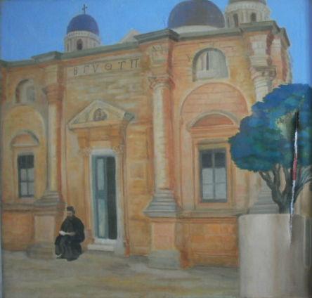 Ιερά Μονή Αγίας Τριάδος Τζαγκαρόλων Χανίων Κρήτης - Holy Trinity Monastery Tzagarolon Chania cRETA