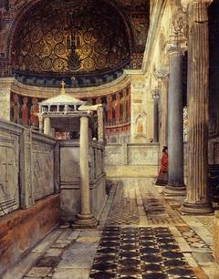 Interno della chiesa di San Clemente, Roma