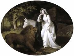 Isabella Saltonstall as Una in Spenser's 'Faerie Queene'