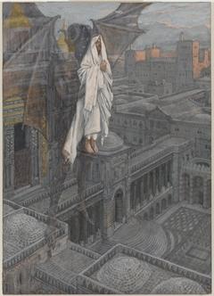 Jesus Carried up to a Pinnacle of the Temple (Jésus porté sur le pinacle du Temple)