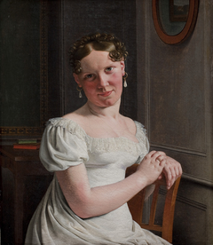 Julie Eckersberg, née Juel, the Artist's Second Wife