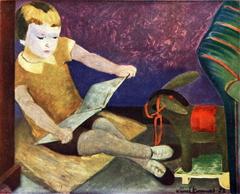 Kirsi Reading Fairy-Tales
