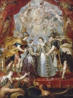 L'Échange des deux princesses sur la rivière d'Andaye, le 9 novembre 1615