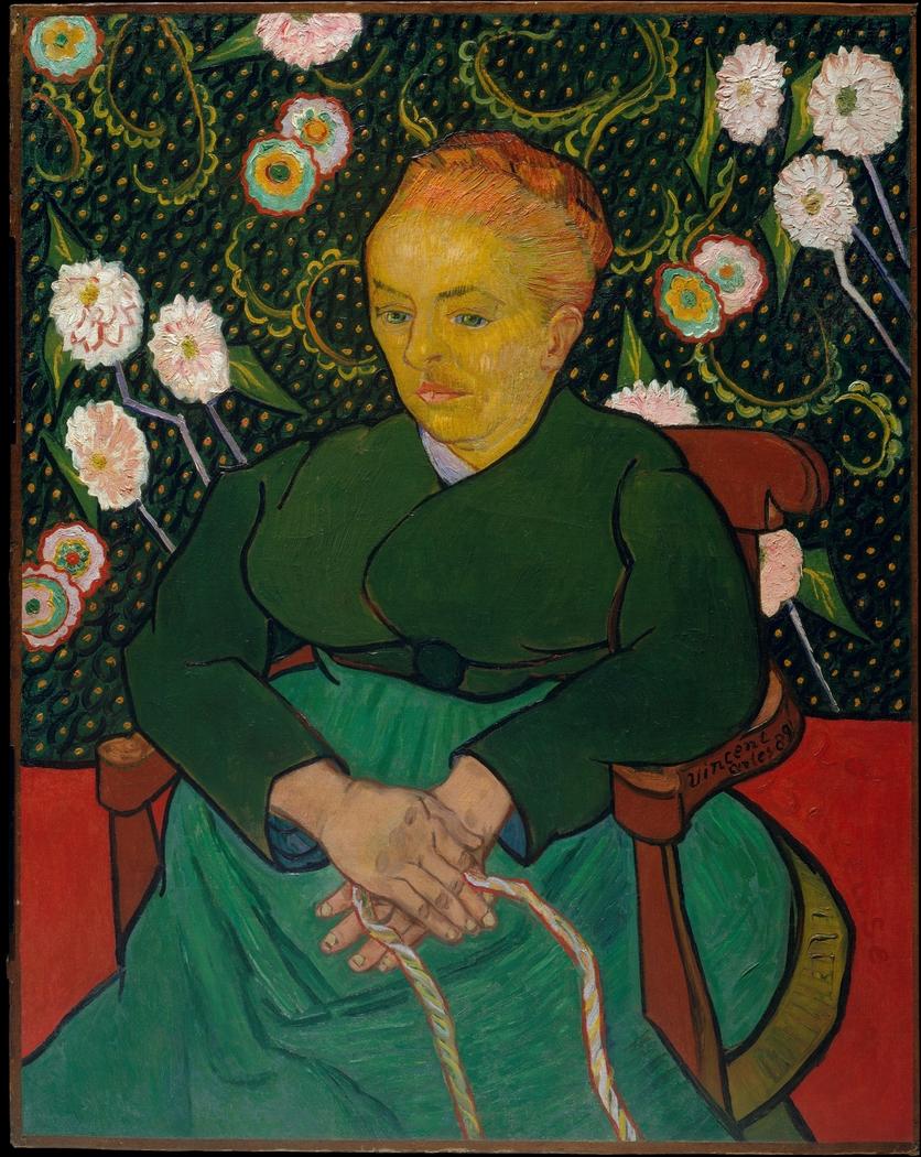 La Berceuse (Woman Rocking a Cradle; Augustine-Alix Pellicot Roulin, 1851–1930)