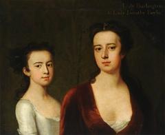 Lady Dorothy Savile, Countess of Burlington (1699-1758) with her Daughter Lady Dorothy Boyle, later Countess of Euston (1724-1742)