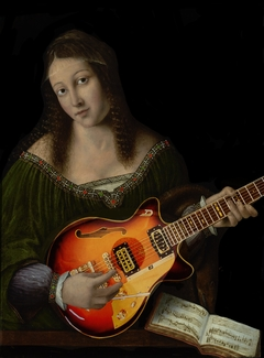 ''Lady Guitar'' A tribute to Bartolomeo Veneto
