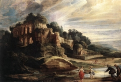 Landscape with Ruins on Palatine Hill