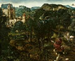 Landscape with Saint Hubertus