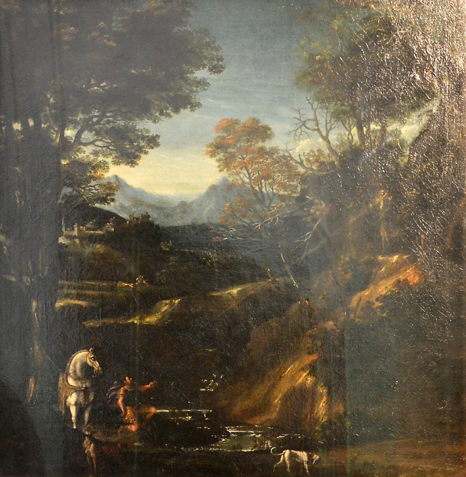 Landscape with St. Eustachius