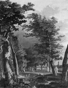 Landscape with Trees near Paris