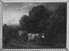 Landschaft mit Vieh (Nachahmer)