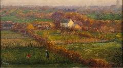 Landschap tussen Noordwijk en Oegstgeest