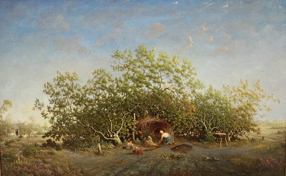 Le four communal dans les landes de Gascogne