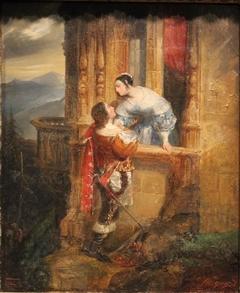Les Adieux de Cinq-Mars à Marie d'Entraigues or le Baiser du départ