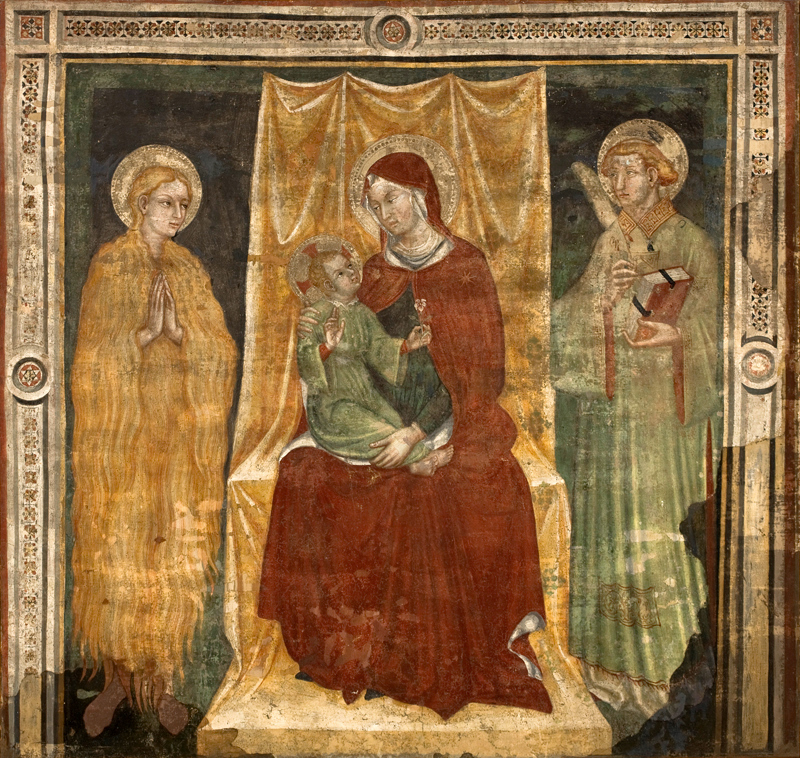 Madonna and Child between Saint Magdalene and Saint Stephen Protomartyr