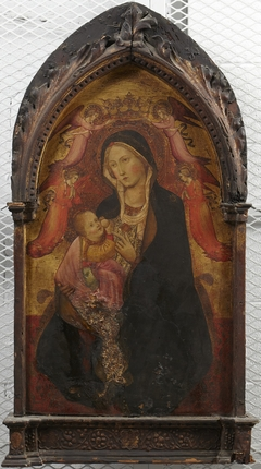 Madonna and Child, Four Angels