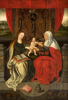 Madonna and Child with Saint Anne