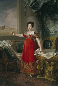 Maria Isabel of Braganza Queen of Spain as Founder of the Museo del Prado