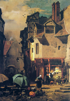 Market in Rouen